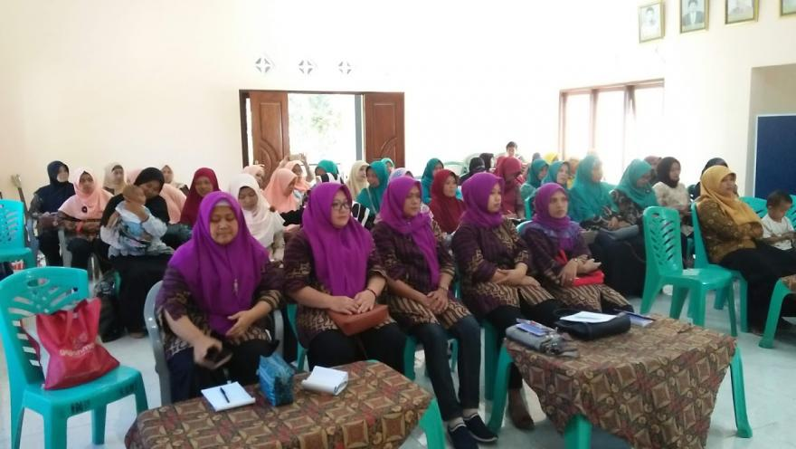 Image : Untuk Meningkatkan kualitas Pelayanan, Kader Posyandu Desa Banyuadem Diberikan Pelatihan